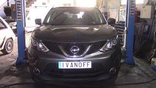 Nissan Quashqai  K9K  2015 шум в коробке