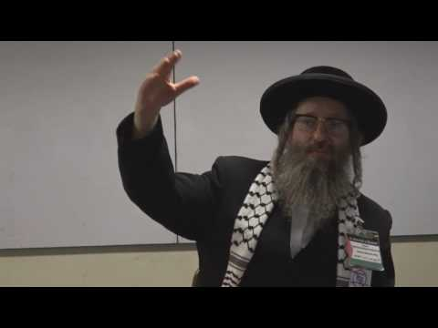 Anti-Zionist Rabbi lecturing at University in Chile [Spanish/English]