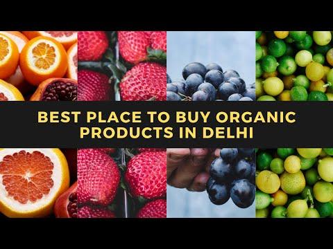 Best Place to Buy Organic Food Products in Delhi | Farmers Market Delhi | DJI Osmo Pocket