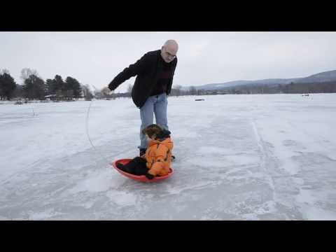 Otsego Lake Fishing Ice Fishing on Otsego Lake