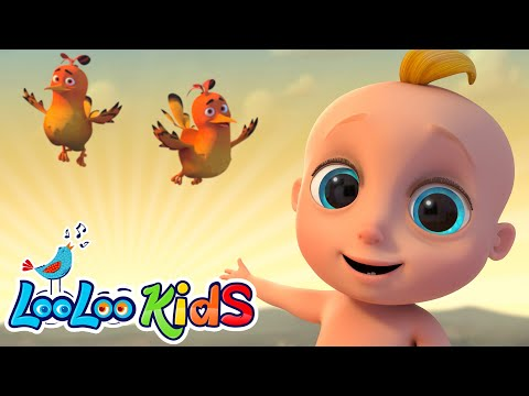 👶in-the-morning🌅--educational-morning-songs-for-children-|-looloo-kids