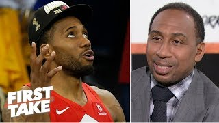Stephen A.: Kawhi's Uncle Dennis' alleged free-agency requests violated the CBA | First Take