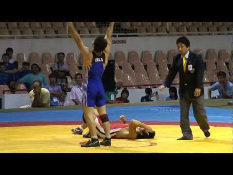 Asian Wrestling Championship Iran vs. Japan - PIN