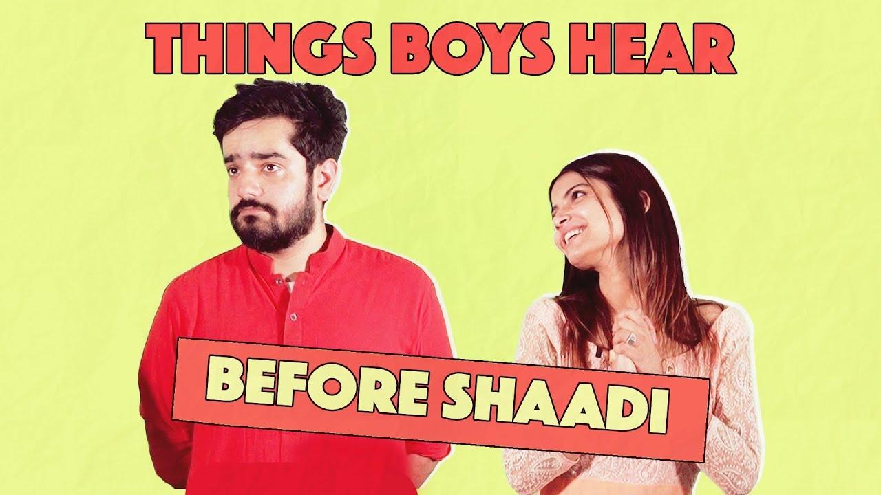 Things Boys Hear Before Shaadi | MangoBaaz