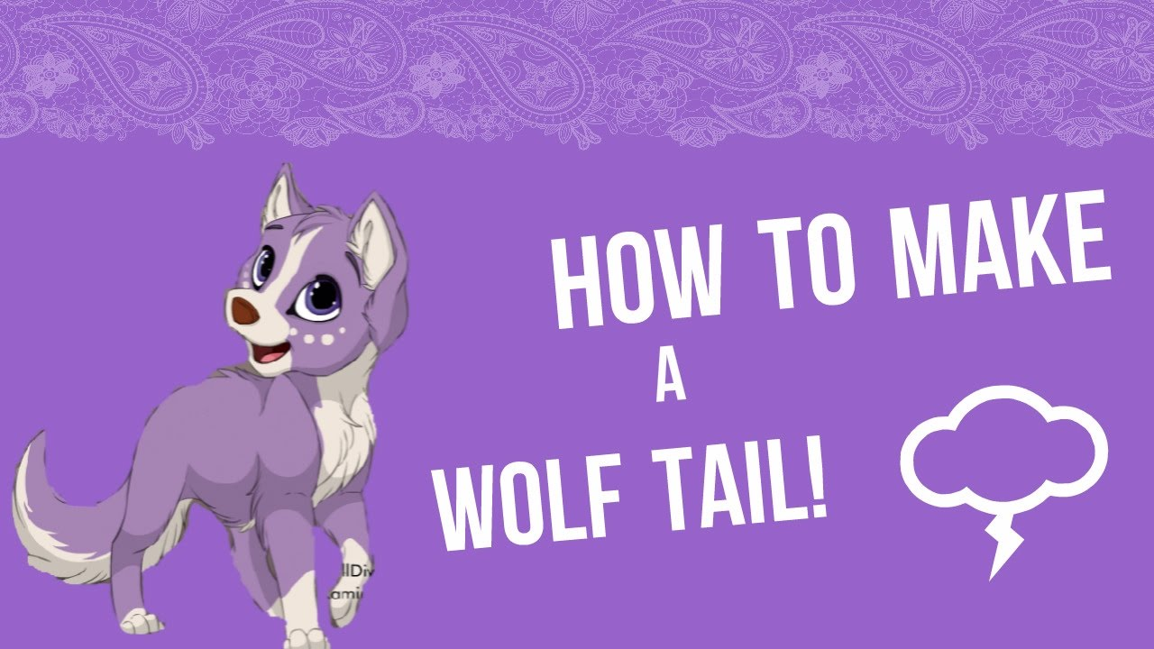 How To Make A Wolf Tail You