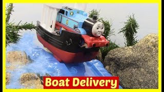 Thomas and Friends Accidents will Happen | Toy Trains Thomas the Tank | Boat Delivery