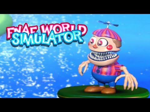 NIGHTMARE BALLOON BOY!! | FNAF World Simulator