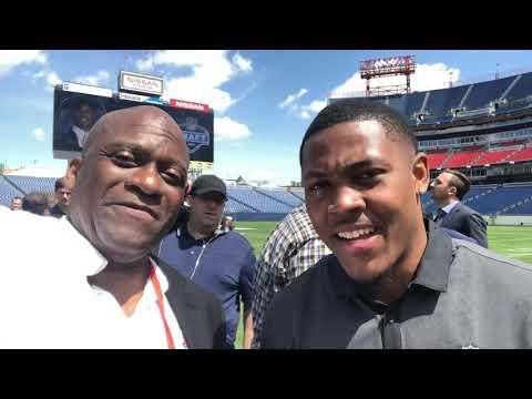 Alabama RB Josh Jacobs On Raiders Marshawn Lynch At 2019 NFL Draft