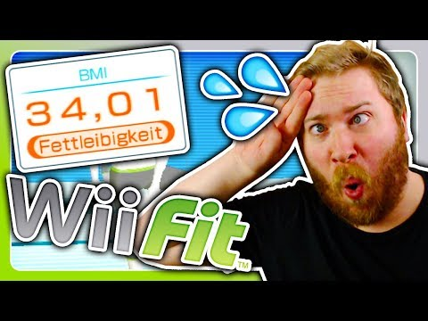 FETTER TYP spielt Wii Fit