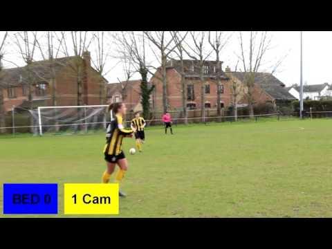 Bedford V Cambridge United  Ladies 2015/16 season Official Highlights