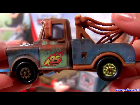 Carros 2 London Chase diecast Relampago Mcqueen Mate Disney Pixar Cars 2 Dublado em Portugues Travel Video