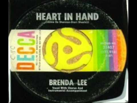 Heart In Hand    Brenda Lee, 1962  45 DECCA 31407 A