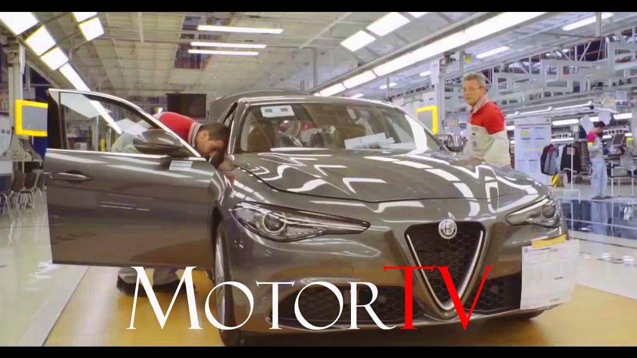Car Factory 2017 Alfa Romeo Giulia L Cassino Plant L Plastics