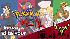 Pokémon Black & White - Battle! Elite Four 【Intense Symphonic Metal Cover】