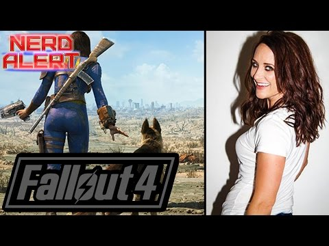 Fallout 4 Sole Survivor Voice Courtenay Taylor's Favorite Line, Companion, & More! (INTERVIEW)