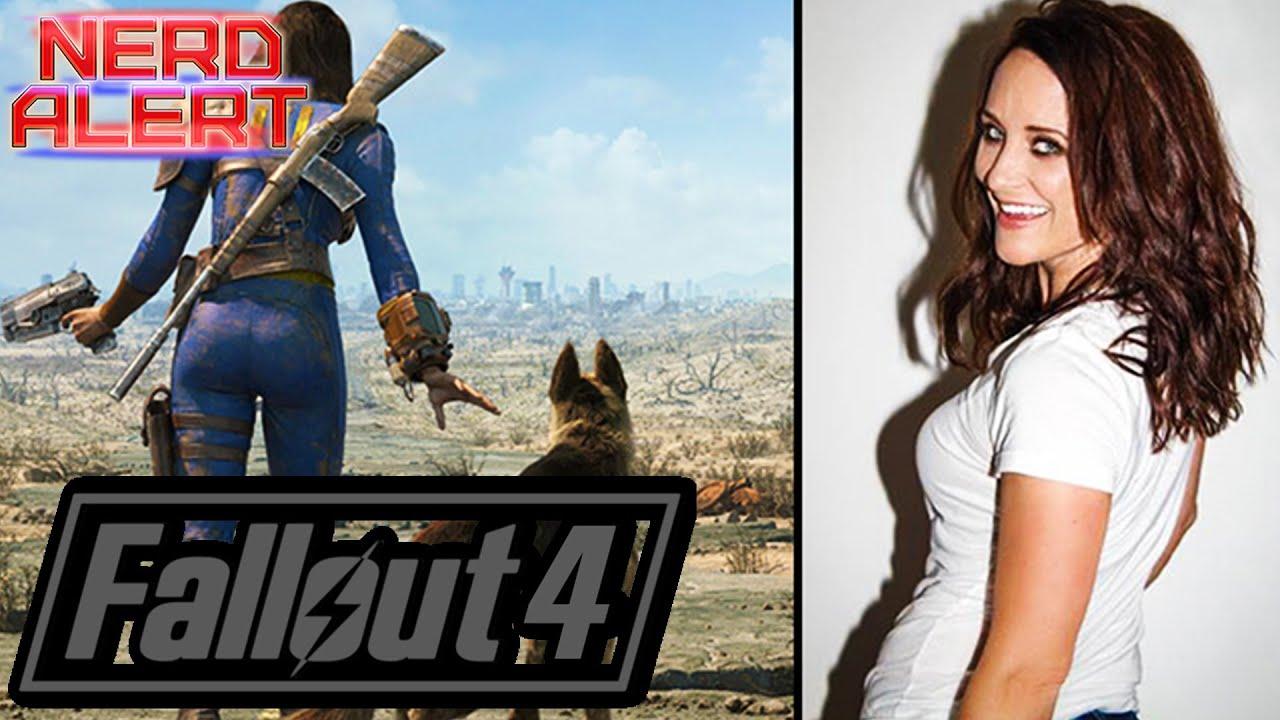 Fallout  Sole Survivor Voice Courtenay Taylors Favorite Line Companion More Interview Youtube