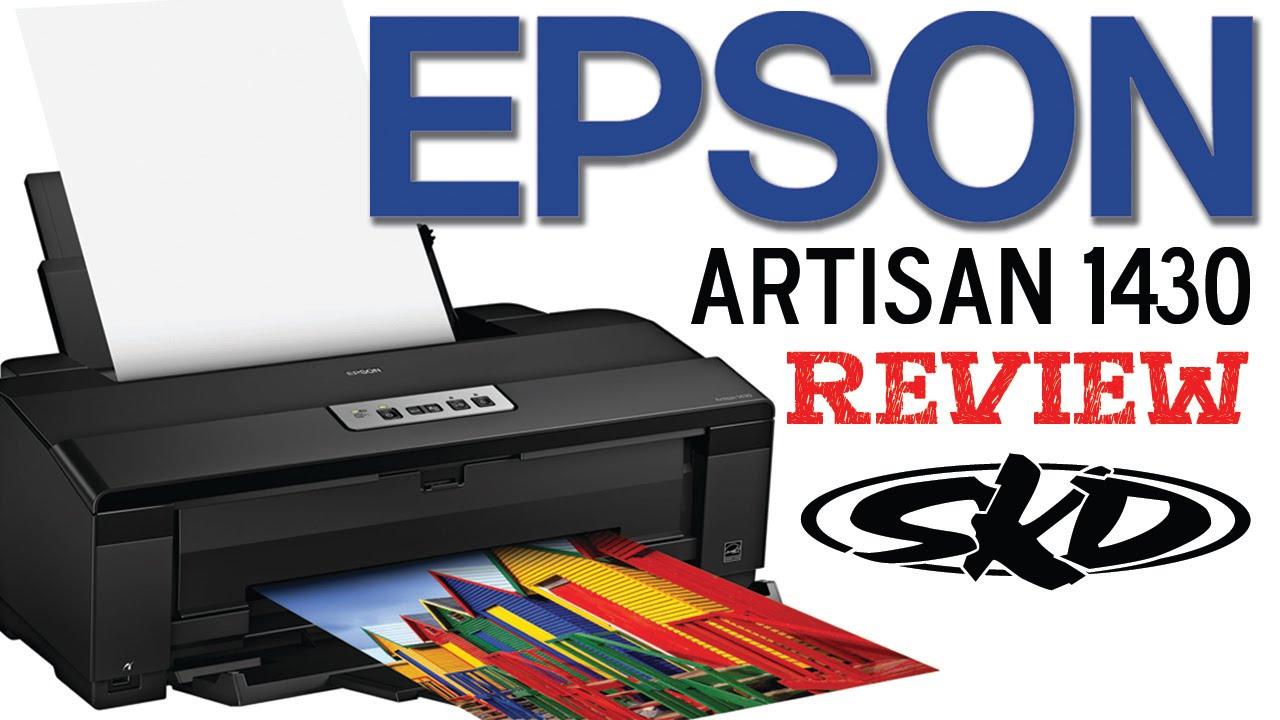 Epson Artisan 1430 Review 2015  Youtube
