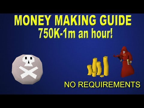 OSRS - 750k - 1M an hour! Oldschool Runescape Money Making Guide