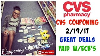 cvs 2 19 17   great deals paid with ecb s
