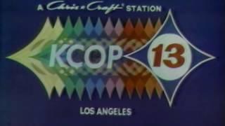 KCOP-13 1972  Station Break..