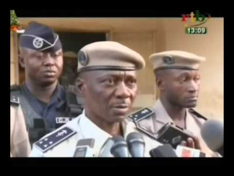 Point de presse du commissaire central de la ville de Ouagadougou