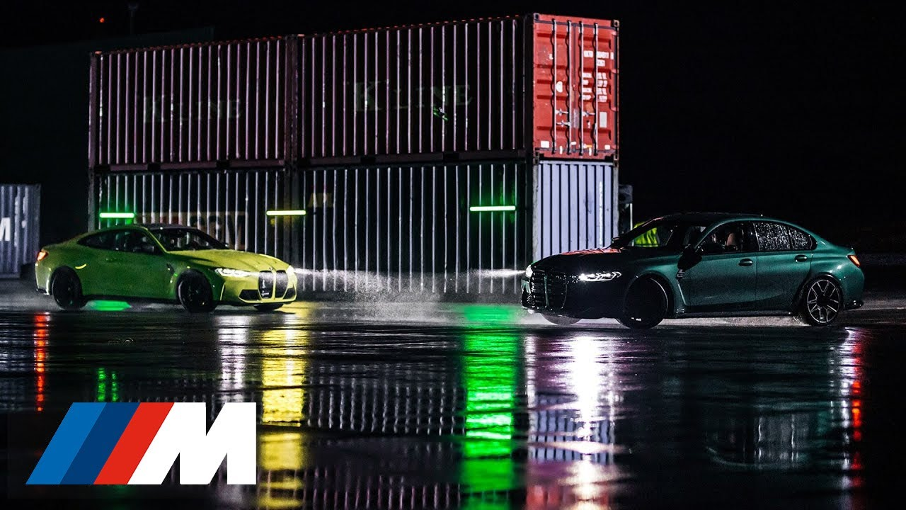 BMW M3 vs. BMW M4 Competition: The Harbour Race.