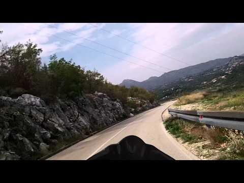 road Gornja Brela-kanjon Cetina