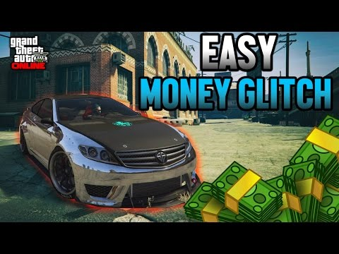 GTA 5 Online: Easy Money Glitch for (PS3 / XBOX 360 ONLY)
