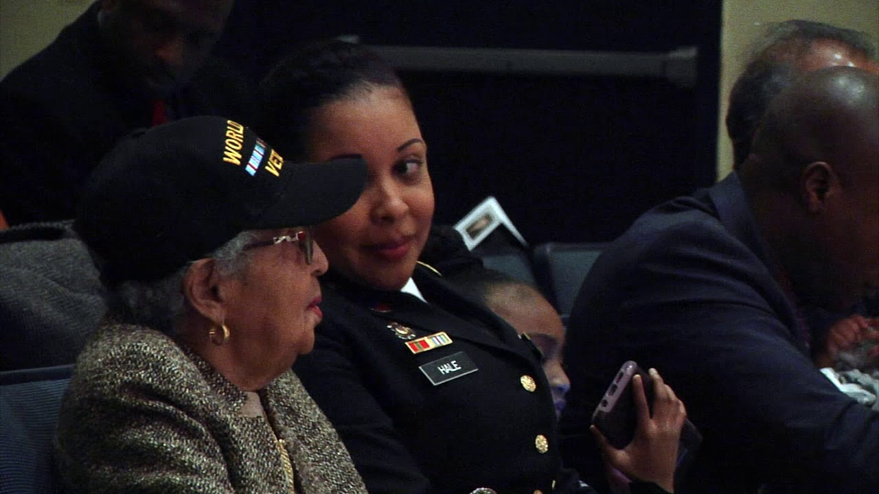 New Jersey Secretary of State Tahesha Way and the New Jersey Martin Luther King Jr. Commemorative Commission hosted the state's annual tribute to Martin Luther King Jr. Jan. 19 at the N.J. State Museum Auditorium in Trenton. Maj. Lakisha Earl-Hale, G-1 chief of plans for the U.S. Army Reserve's 99th Readiness Division headquartered at Joint Base McGuire-Dix-Lakehurst, New Jersey, served as guest speaker for the event.