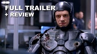 robocop 2014 official trailer 2   trailer review hd plus