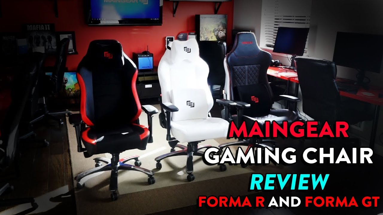 Maingear Gaming Chair Review Yes It Can Quot Do This Quot Youtube