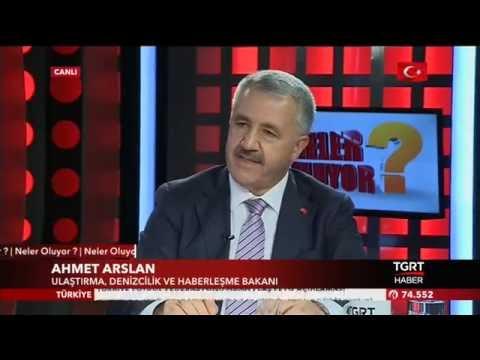 Ahmet Arslan - Tgrt Haber Canlı Yayınına Katıldı