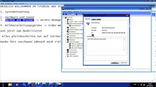 Webcam Aktivieren / Deaktivieren ( Windows 7)