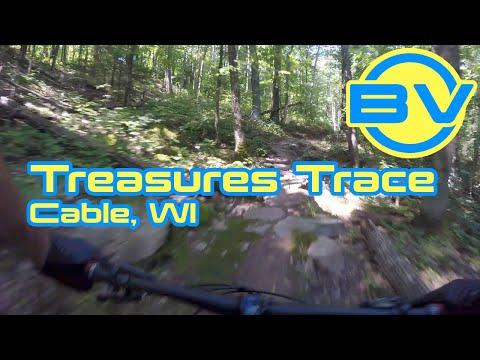 Treasures' Trace - Mountain Biking -  CAMBA - Cable, WI
