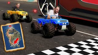 RC Car Race Across The Map! | GTA5