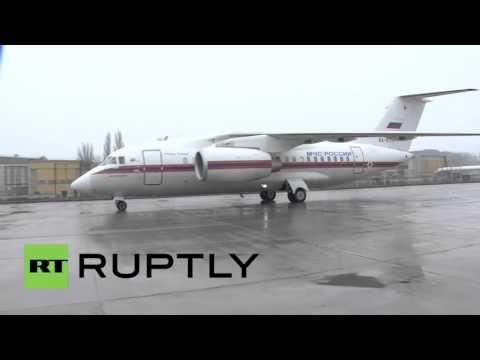 Russia: EMERCOM inspects Rostov-on-Don airport following FlyDubai crash