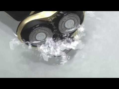 HANLIN-9001 德國設計 4D電動刮鬍刀 防水7級機身可水洗 智能防夾刀頭 勝飛利浦Philips百靈Braun