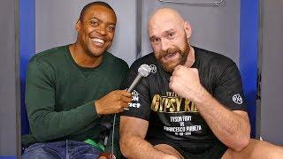 Tyson Fury LOCKER ROOM After WIN! vs Francesco Pianeta