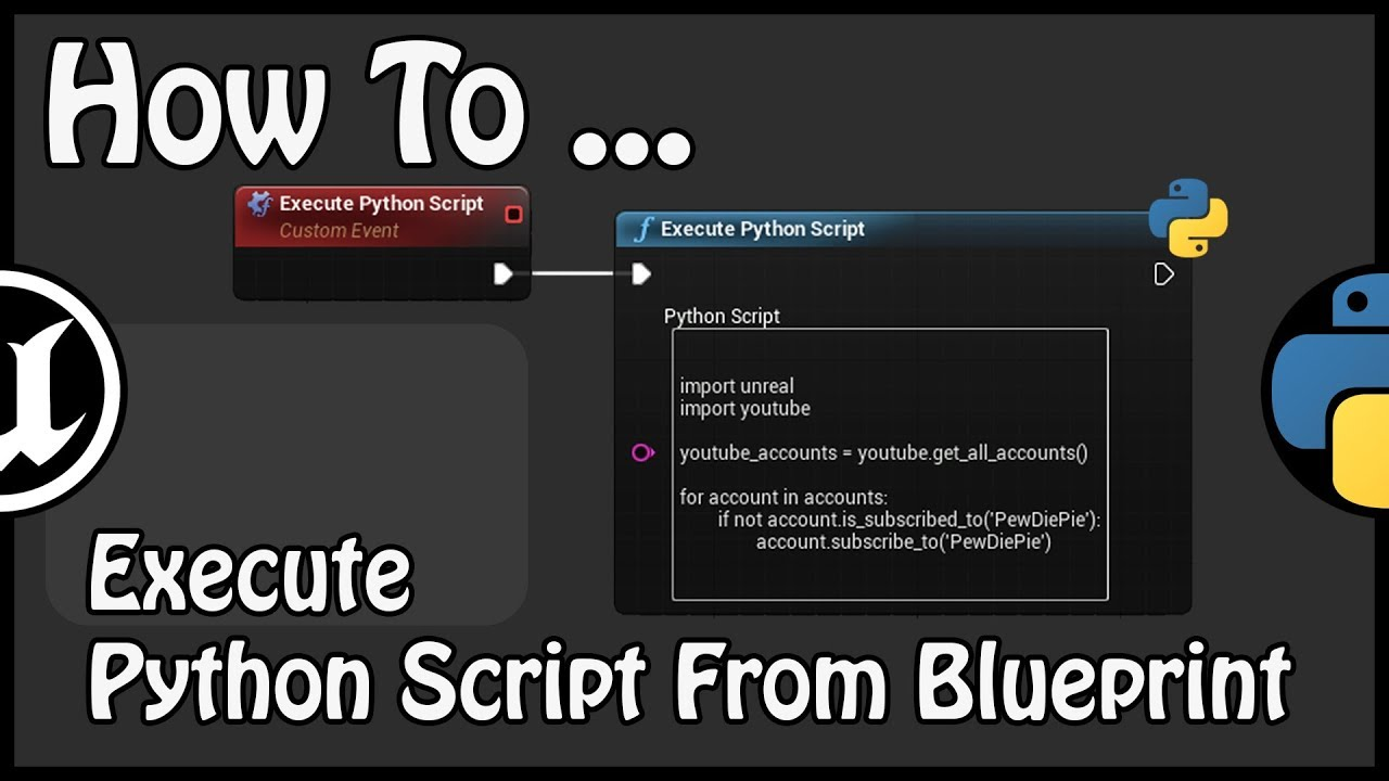 UE 4 22 - How To Execute Python Script From Blueprint