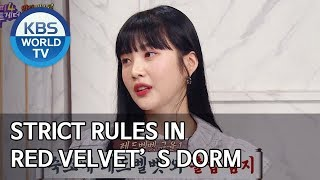 Strict rules in Red Velvet's dorm [Happy Together/2020.01.23]