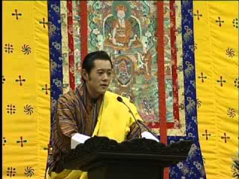 His Majesty King of Bhutan Shares his Vision for (GNH) in Bhutan