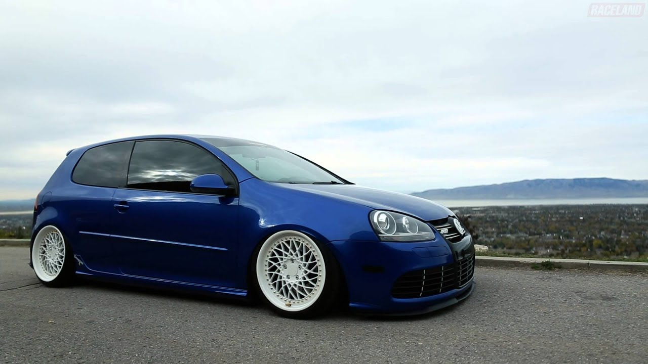 raceland vw mk5 golf r32 air ride kit youtube. Black Bedroom Furniture Sets. Home Design Ideas