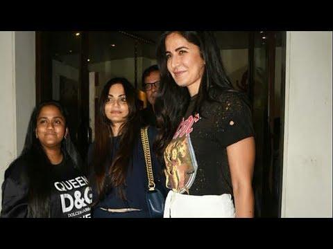 Katrina Kaif With Salman's Sister Arpita And Alvira Spotted At Bastian For Dinner