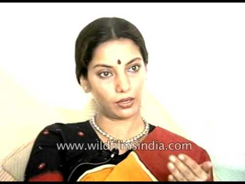 Shabana Azmi, Bollywood actress, speaks of her younger years