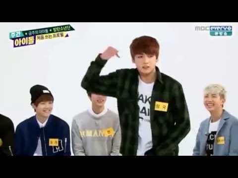 140430 Weekly Idol BTS Bangtan Boys (방탄소년단) - JungKook, Jimin, J-Hope Random Dance Female Songs
