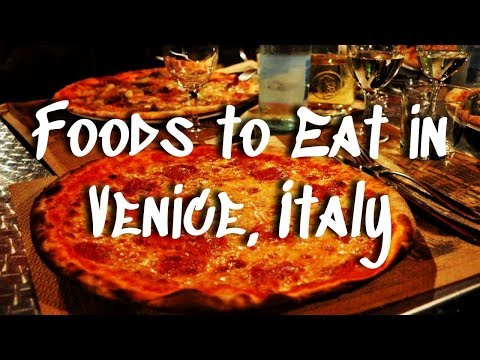 Eating Your Way Around Venice, Italy || Foods To Try In Venice