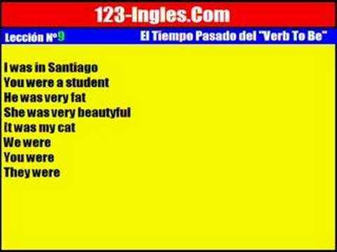 Curso de ingl s 9 el tiempo pasado del verb to be for Tiempo aprender ingles