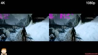 Dragon Age Inquisition 1080p Vs 4K GTX 980 FPS Comparison