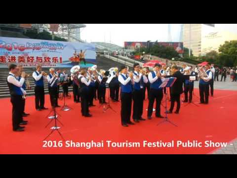 2016 Shanghai Tourism Festival public show-Brass Band MG Oberrüti, Switzerland-5