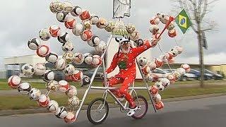 Немецкий изобретатель построил велосипед в честь ЧМ-2014 (новости)(, 2014-04-23T09:10:39.000Z)